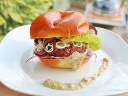Grass-fed burger recipe
