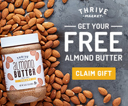 Almond butter giveaway